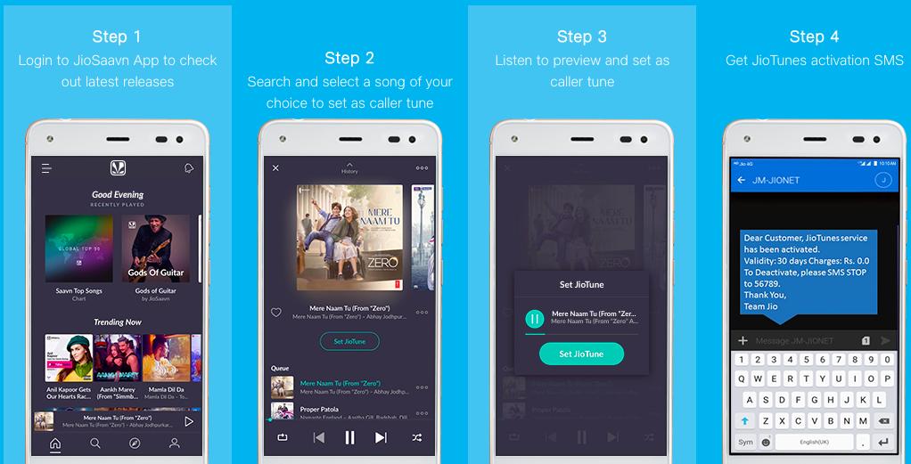 Jio caller tune on your number with JioSavan App