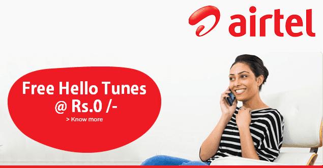 airtel caller tune