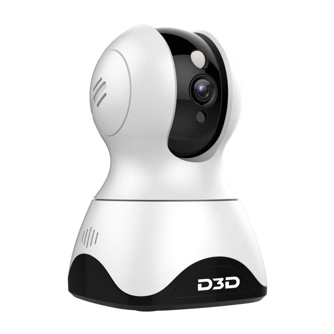 D3D Smart Pan Tilt Home Security WiFi Camera